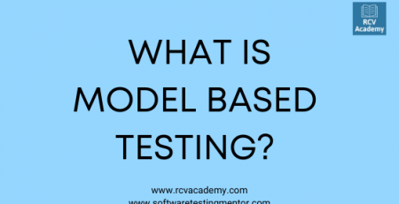 what is model based testing